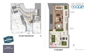 L Tower Floor Plans Daniels 130 Qqe Office Building