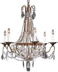 Metal Chandelier Frame Empire Chandelier Empire Style Crystal Chandelier
