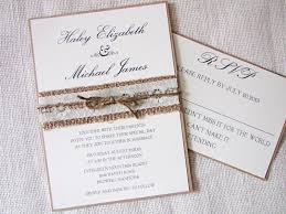 a chic collection of burlap country wedding invitations elite