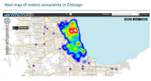 Chicago Crime Heat Map chicago u0027s smart city from open data to rat control zdnet