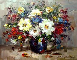 Decorative Paintings For Home by Wholesale Painting Buy Flowers Colour Contrast Strong Oil