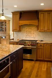 Backsplash With Accent Tiles - new venetian gold granite backsplash ideas kitchen traditional