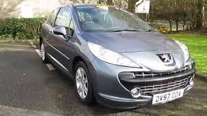 peugeot 207 2007 2007 peugeot 207 sport hdi 110 3 door hatchback 1 6l youtube