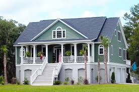 plan 9135gu gracious low country house plan house low country