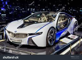 bmw museum munich germany april 19 2016 futuristic stock photo 417034597