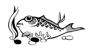 free fish coloring page free printable kids fish coloring pictures