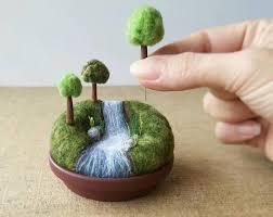 playscape for grown ups movable mini trees made to order miniature
