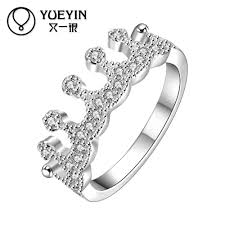 s day rings silver plated women s personality rings the new allergy free