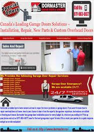 Overhead Garage Doors Repair by Find The Best Garage Door Installation And Repair Services Visual Ly