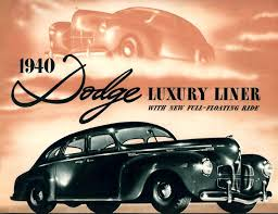 1940 chrysler dodge imperial and plymouth paint charts and color