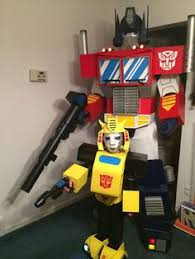 these transformers costumes are quite something pic