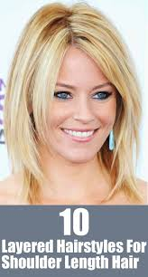 20 great shoulder length layered hairstyles shoulder length