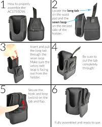 holster for zebra mc40 with handle mc40 mobile computers