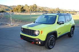new jeep renegade green 2017 jeep renegade trailhawk test drive review