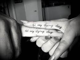 finger tattoo lioness 61 cute couple tattoos that will warm your heart page 5 of 6