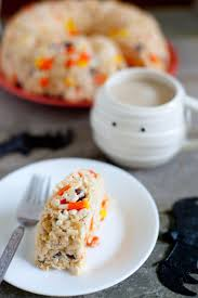 halloween rice krispie treat cake recipe eating richly