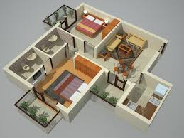 2 Bhk Home Design Plans by 2bhk Home Image 2017 Including Two Bedroom Houseapartment Floor