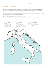 Renaissance Italy Map by Leonardo Da Vinci U2014 Historicool