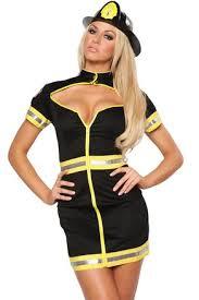 Womens Firefighter Halloween Costume Flight Attendant Costumes Firefighter Uniforms