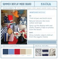 store mood boards nautical rustic u0026 brights snapretail