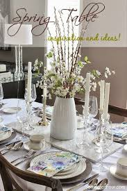 table centerpiece ideas table decor ideas setting for four