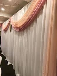 wedding backdrop linen get fresh wedding linen rentals available in 50 colors