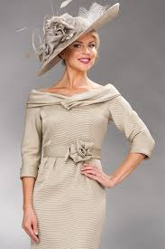 short dress with shawl collar and sleeves 6757 catherines of partick