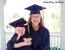 toddler cap and gown how to make a baby graduation cap and gown latterday