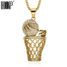 necklace aliexpress images Hip hop iced out crystal number 23 basketball pendants necklaces jpg