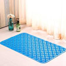 Toilet Mat Bath Mats Non Slip Rubber Shower Mat With Suction Cups Safe And