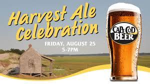 harvest pre release parties 8 25 cape cod beer cape cod beer