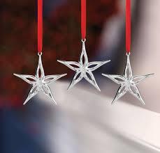 nambe 2017 mini classic modern ornament set of 3