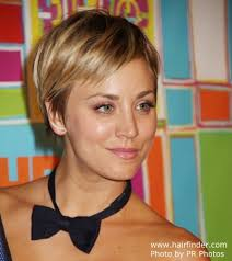 why kaley cucoo cut her hair kaley cuoco with her hair cut short into a pixie