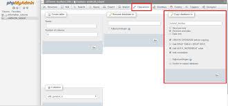 Copy Table Mysql Create A Copy Of Mysql Database Using Phpmyadmin