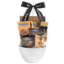 ghirardelli gift basket ghirardelli chocolate treats gift basket white walmart