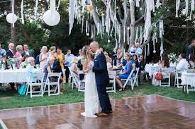 your essential guide to planning a backyard wedding at home