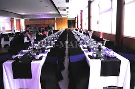 decoration mariage noir et blanc déco noir violet blanc organisateur mariage mixte dj turc