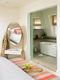 Mirrored Bedroom Bench London Floor Mirror Bathroom Contemporary With Soaker Metal Vanity