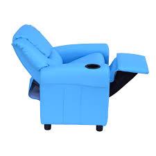 homcom kids children recliner lounger armchair games chair sofa