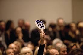 auction bid when gallerists bid on their own artists widewalls