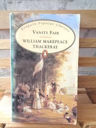 Vanity Fair William Makepeace Thackeray Antique Book Vanity Fair William Thackeray Victorian Society