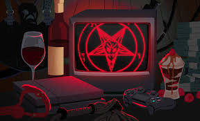 satanists say video games help them practice their religion