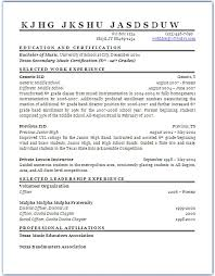 Sample Resume For Special Education Teacher by Special Education Teacher Resume Sample Page 1 Resume Template 2017