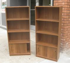 engaging pictures of book shelves with two standing bookshelves