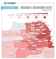 San Francisco Red Light District Map by Mapping The Median Rent Of A One Bedroom In San Francisco Curbed Sf