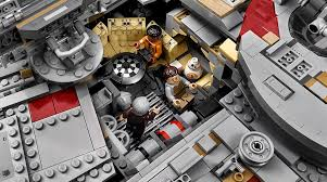 lego technic pieces the new 7 541 piece lego millennium falcon is the biggest and most