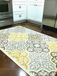 Gray And Yellow Kitchen Rugs Yellow Kitchen Rugs Diy Yellow And Gray Rug Yellow Kitchen Mat