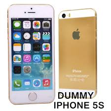 for apple gold golden iphone 5s dummy phone non working dummy
