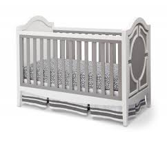 Pali Lily Crib Simmons Hollywood Collection Crib In White With Grey