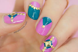 diamond nail design how you can do it at home pictures designs